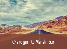 chandigarh to manali tour
